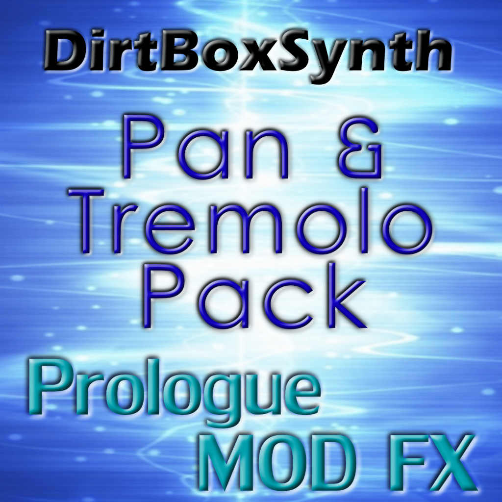 Pan and Tremolo Pack